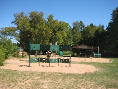 Little Sands Beach - Russell, WI - Play area